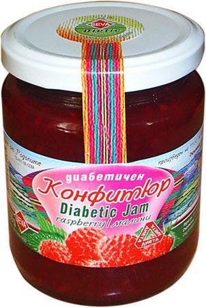 Диабетичен конфитюр от малини