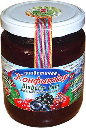 диабетичен конфитюр от диви плодове