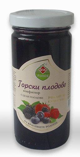конфитюр от горски плодове